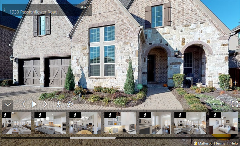 1930 Passionflower Lane Frisco Virtual Tour