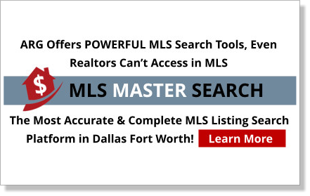 Dallas Fort Worth Master MLS Search Learn The Advantages