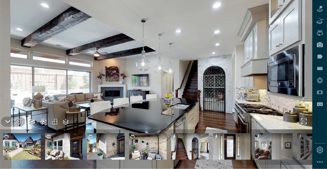 Example of Matterport Virtual Tour Technology