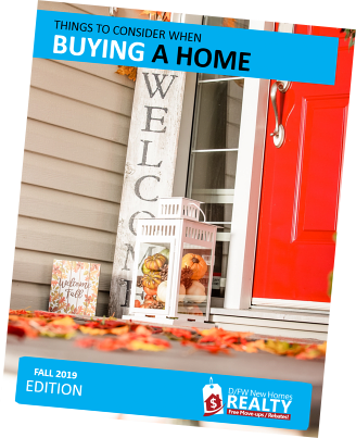 DFW New Home Buyers, Learn More About Buying a New Home at Years End Today