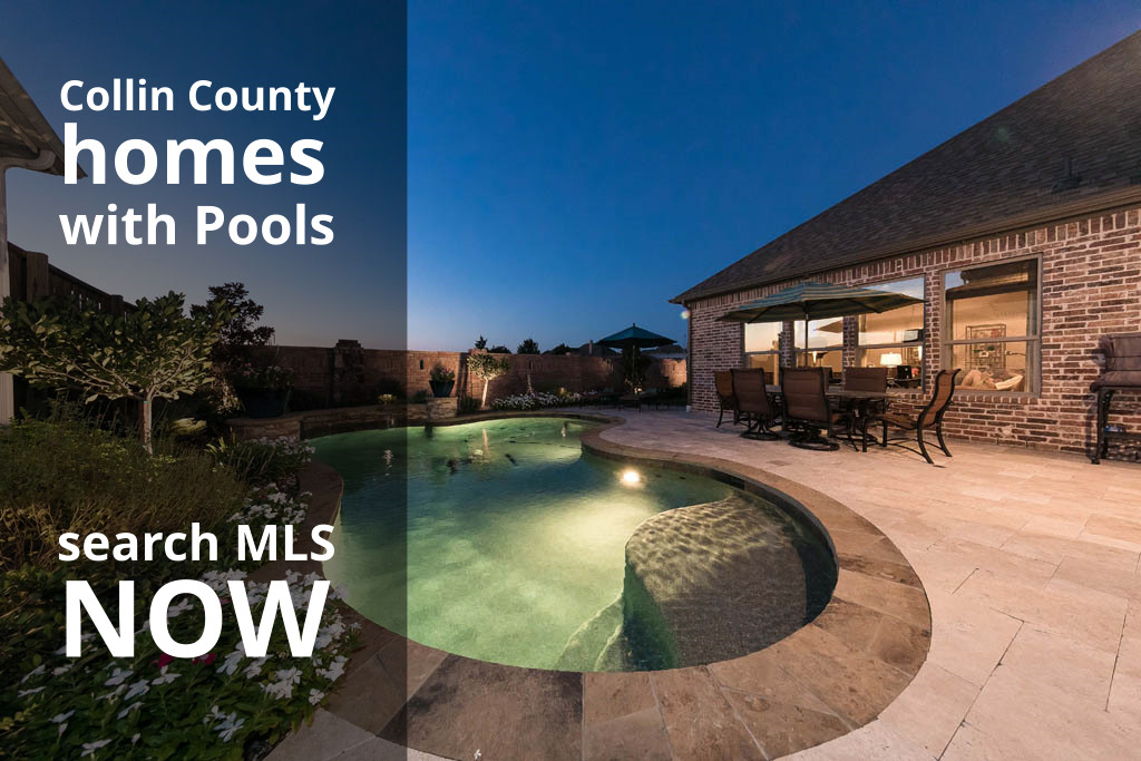Search Homes for Sale in Collin County with Pools