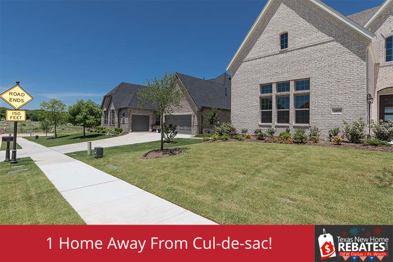 Just 1 Home Away from Large Open Cul-de-Sac!
