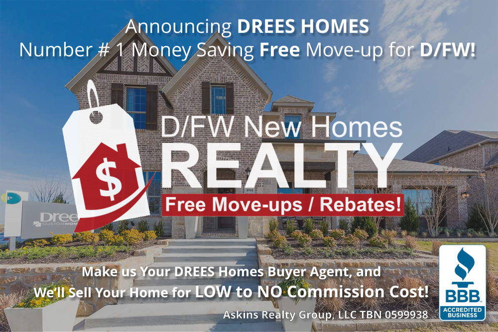 Buying a DREES? ARG Can Sell Your Home Commission FREE. Why Pay, When You Don't Have to?