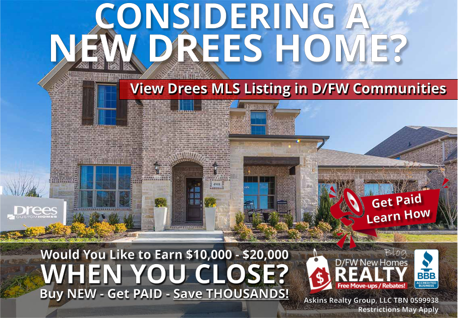 Save THOUSANDS More on New Drees Custom Home with ARG!