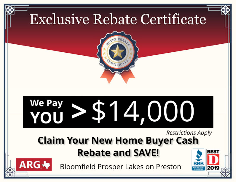 Cash Rebate REDUCE and Save New Home Buyers THOUSANDS. Register Now and Save.