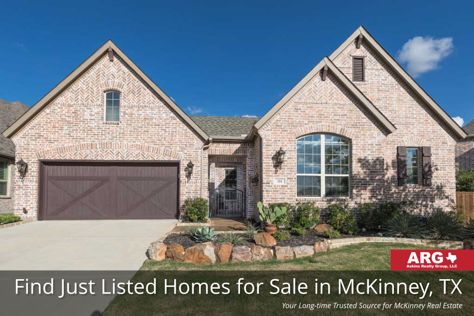 Just Listed Homes for Sale in McKinney Texas