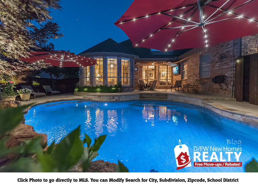 Find all Collin County Homes for sale with POOLS under $500K