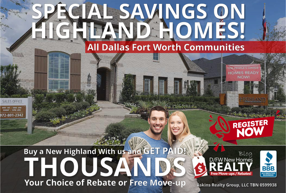 Save THOUSANDS More on New Highland Homes with ARG!