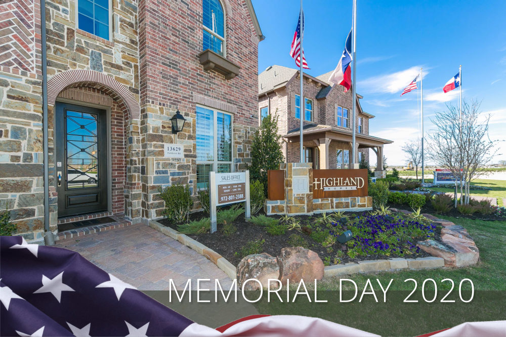 DFW Discounted NEW HOMES, Memorial Day Savings Plus REBATES to 4%!