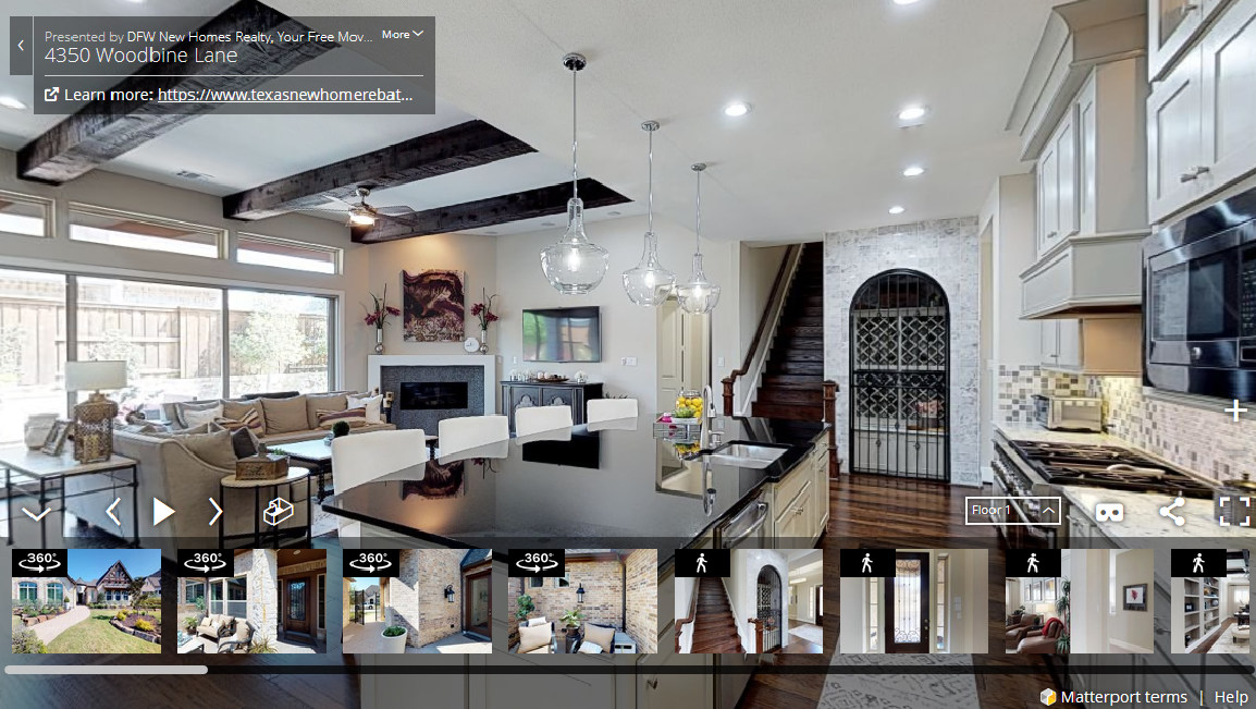 3D Matterport Virtual Tours for Your MLS Listing