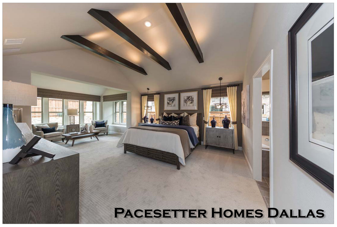 Pacesetter Homes Offers an Extraordinary Master Suite