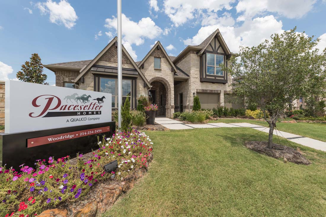 Pacesetter Homes at Woodridge in Oak Point Texas! New Model Now Open