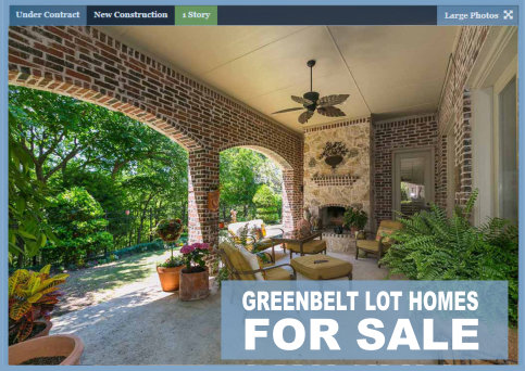 Prosper Homes for Sale on Greenbelts