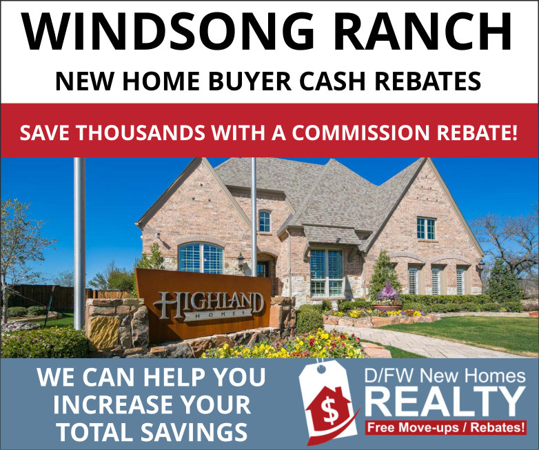 Windsong Ranch New Home Cash Rebates