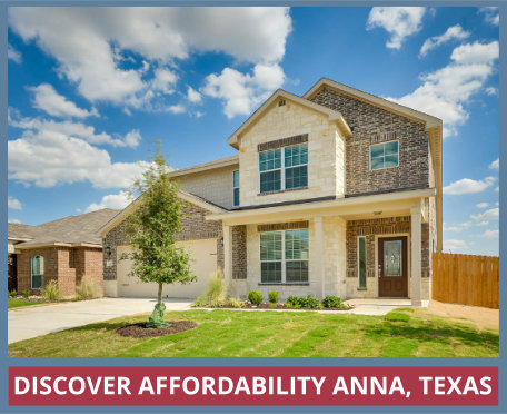 Affordable New Homes in Anna, Texas