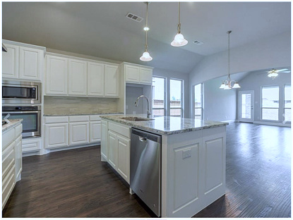 Luxurious Appointments Included in this New Prosper Home for Sale!