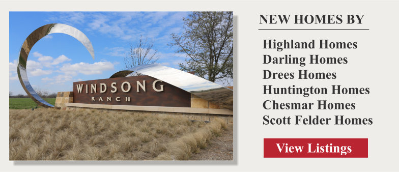 Find New Homes for Sale in WIndsong Ranch Prosper