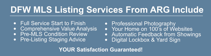 Listings Services You Can Expect From ARG
