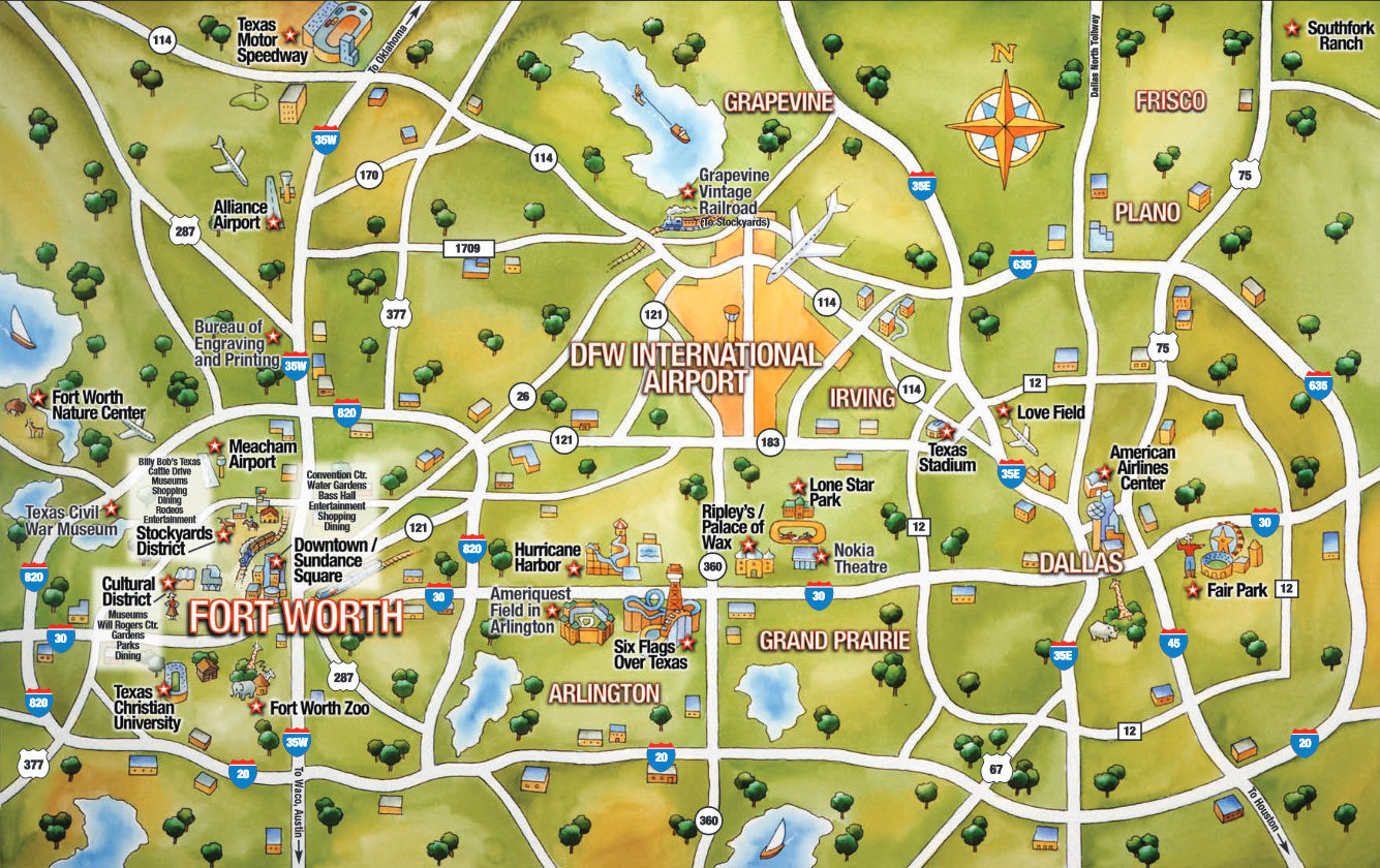 printable city street maps with Dfw City Directory on Horses Tours Bikes moreover Brighton Tourist Attractions Map furthermore Karte von jerusalem 4 78 additionally New York Map Midtown further About Location.
