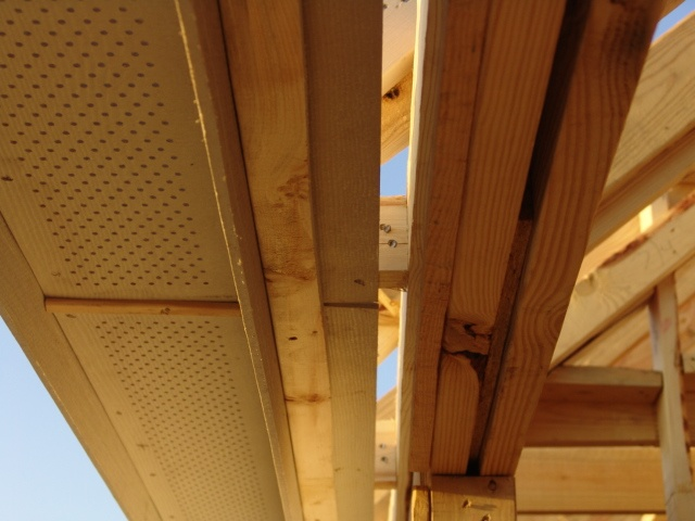 Continuous Perforated Cement Soffits