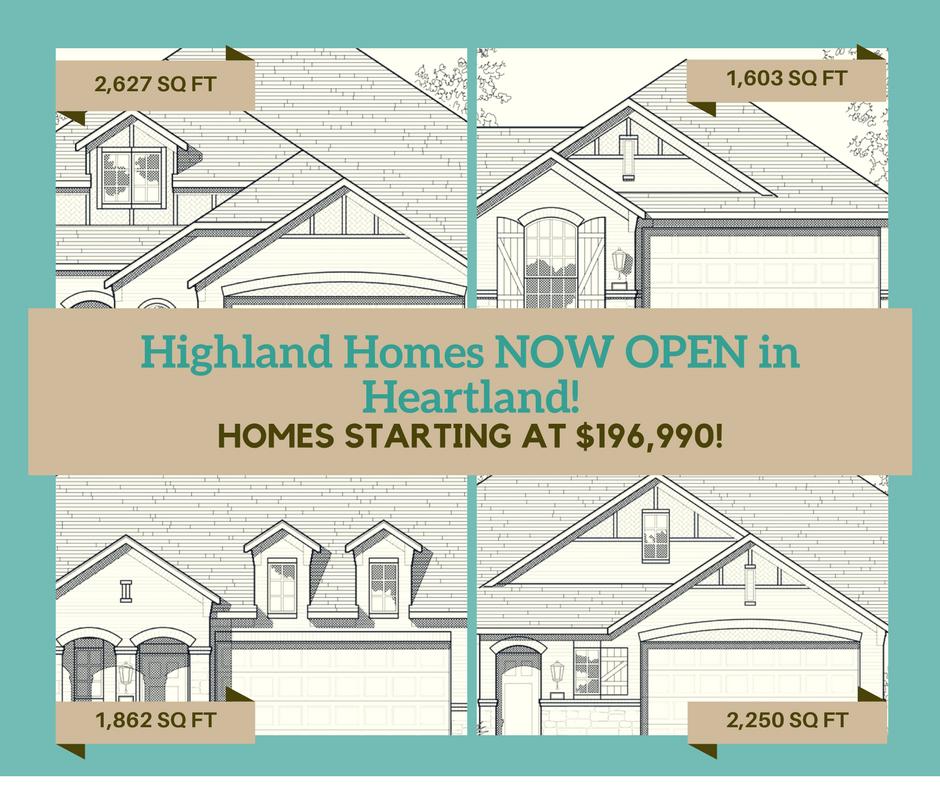 Heartland Homes Oxford Floor Plan