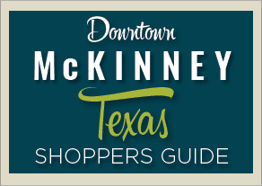 McKinney Historic District Shopping Guide - Downloadable