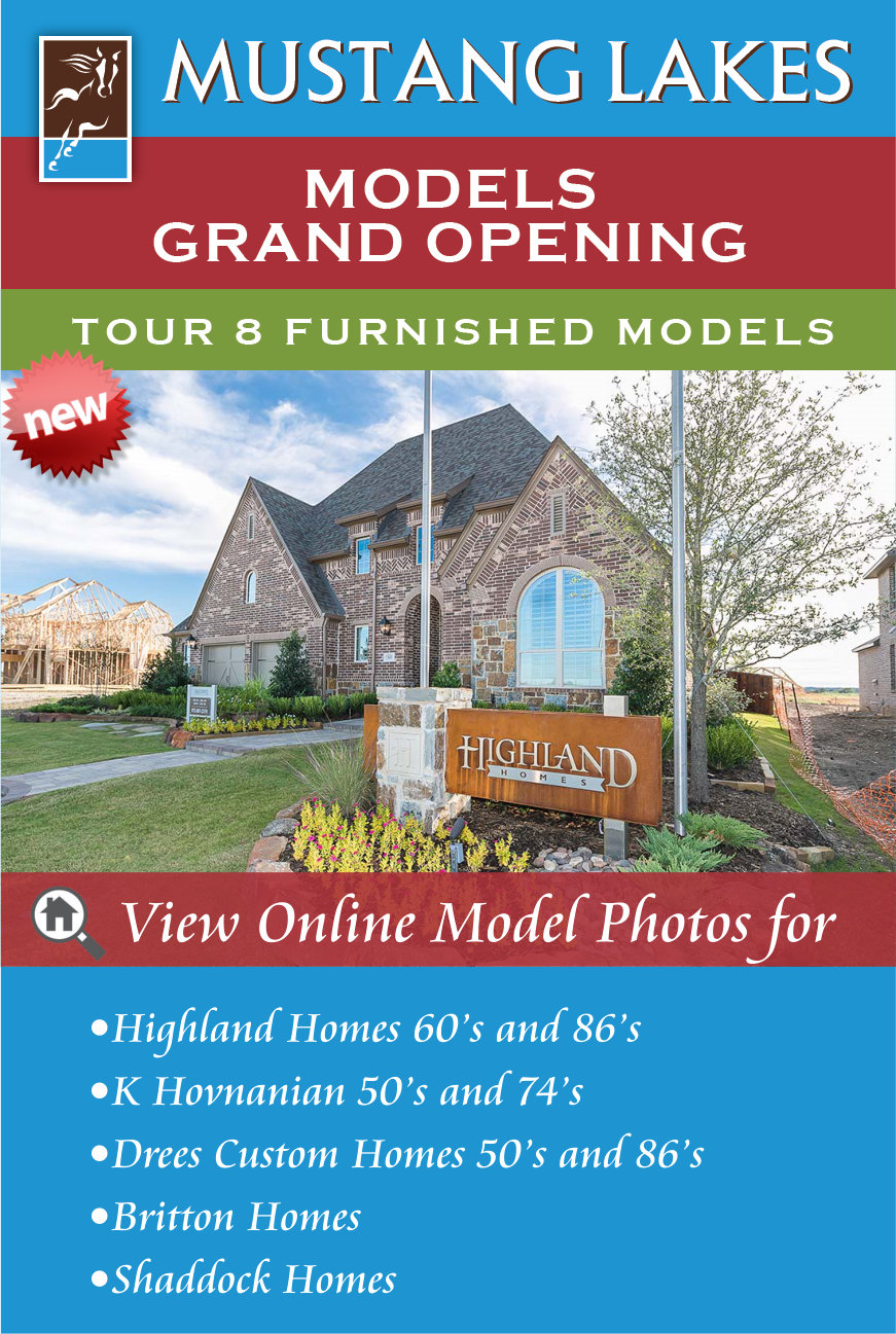 Mustang Lakes Celina Grand Opening This Weekend October 22, 2016