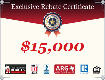 Up to DOUBLE your Wildridge Oak Point Builder Incentives with an ARG New Home Buyer Cash Rebate