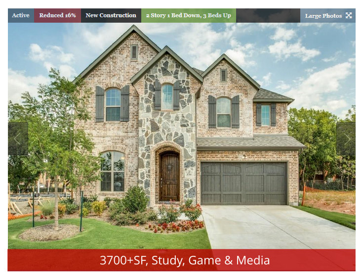 Sweet DFW Year-end New Home Deal!! Super Master-Plan, Great Location, BIG SAVINGS!