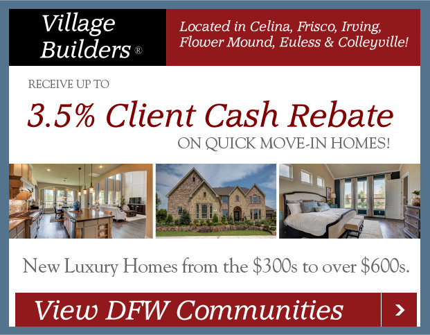Village Builders DFW Select Locations