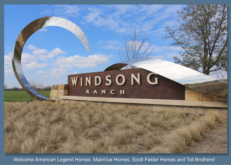 Windsong Ranch Reports 4 New Builders Coming in 2016!