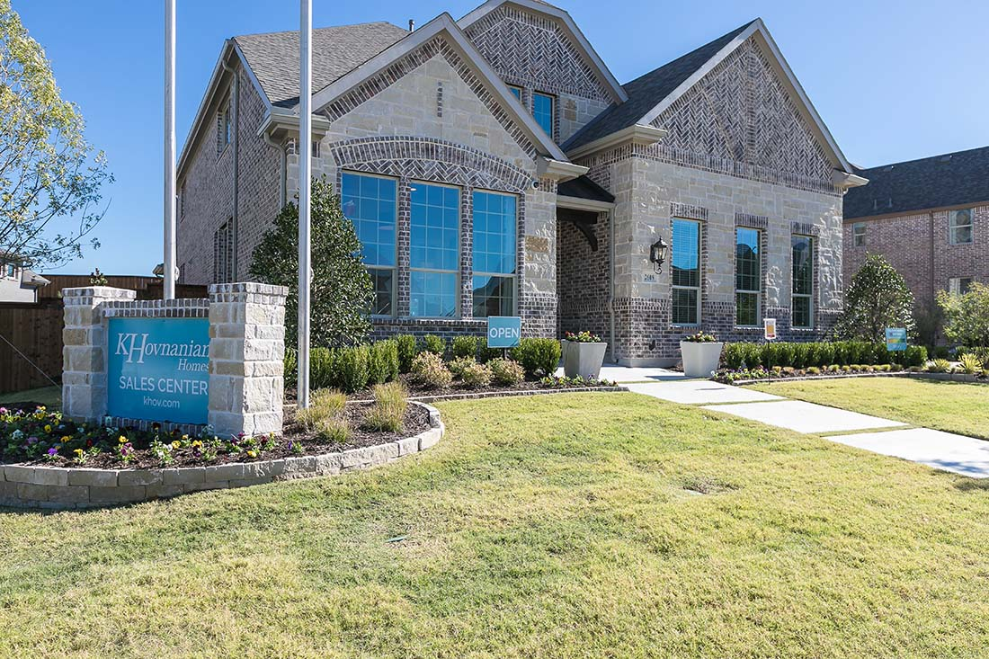 Khov K Hovnanian Homes Mustang Lakes 74s Celina Texas Model Home