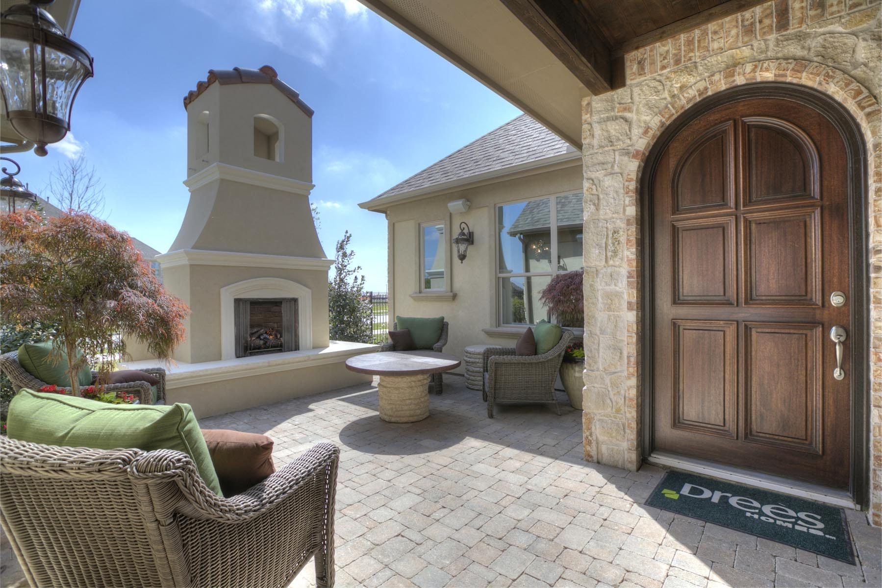 drees homes for sale dallas fort worth tx drees home with backyard bbq
