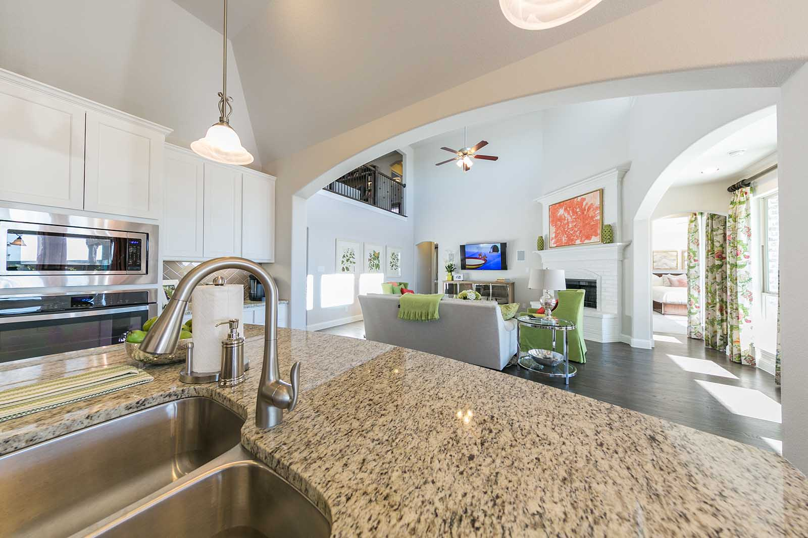 drees homes at the parks of aledo 3 buyer rebates drees granite counter