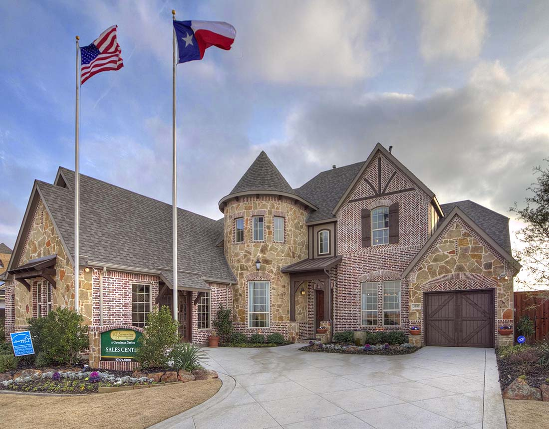 K hovnanian homes floor plans texas for Texas home builders floor plans