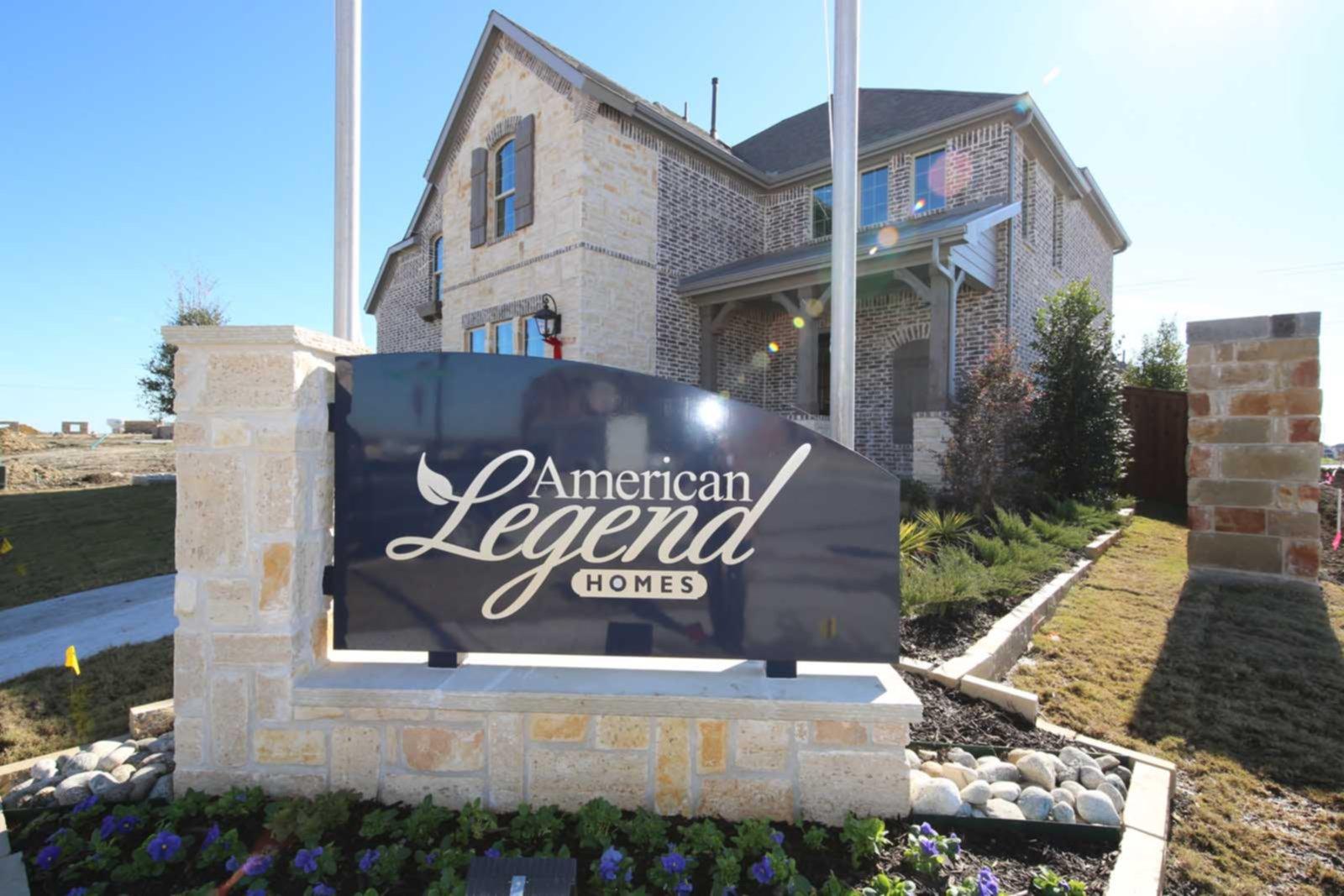 American legend model homes