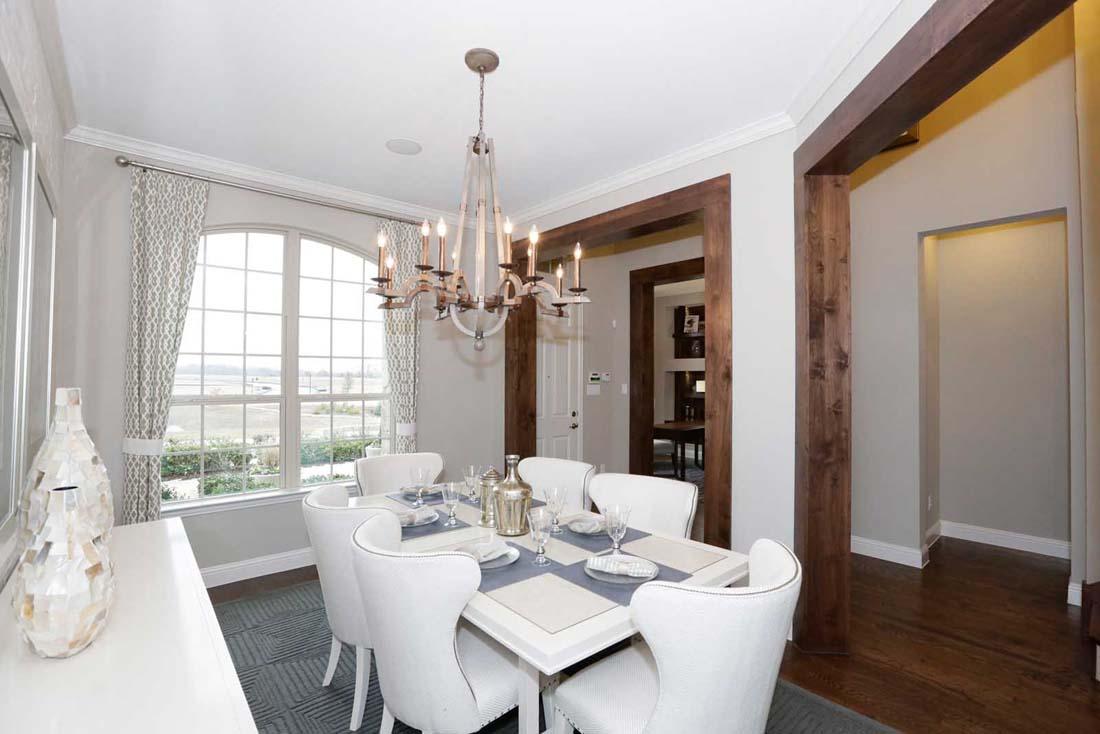 Ashton Woods Homes dining room & millwork