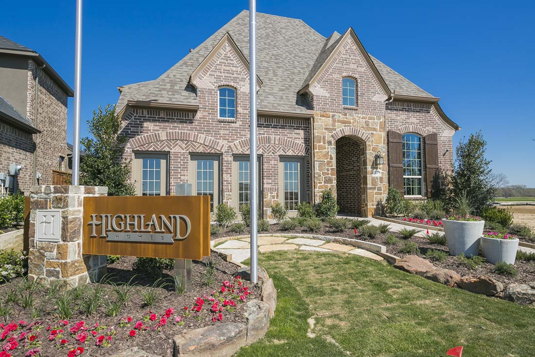 Dallas fort worth builders for Mckinney builders