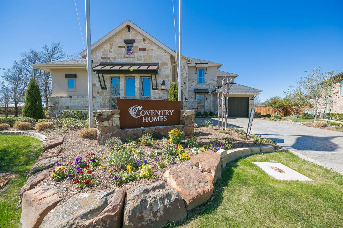 Coventry Homes Model Home Canyon Falls Flower Mound
